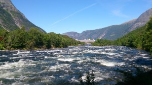 Wanderung um Eidfjord