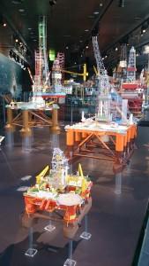Stavangar Bohrinselmodelle Norsk Museum