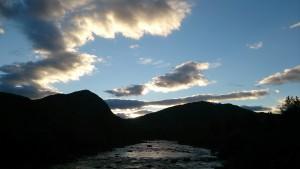 Fluss in Hovden