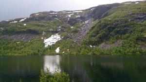 und nochmal See mit Berg