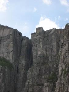 Preikestolen - Blick vom Lysefjord