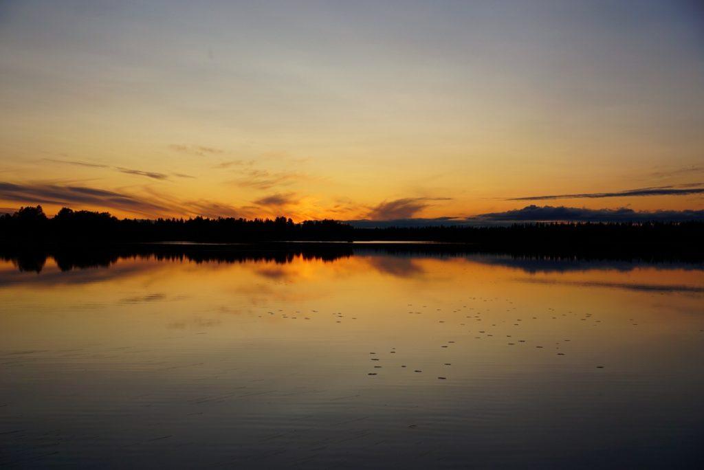 Sonnenuntergang © NTT